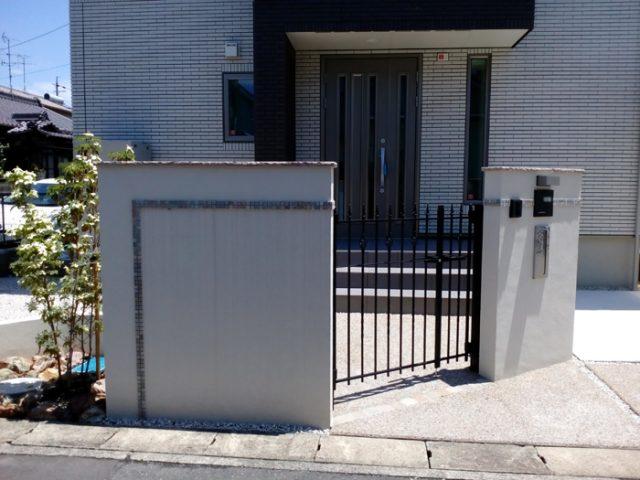 一条工務店 外構・門まわり 扶桑町H様邸