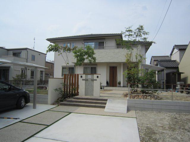 岩倉市外構工事 S様邸