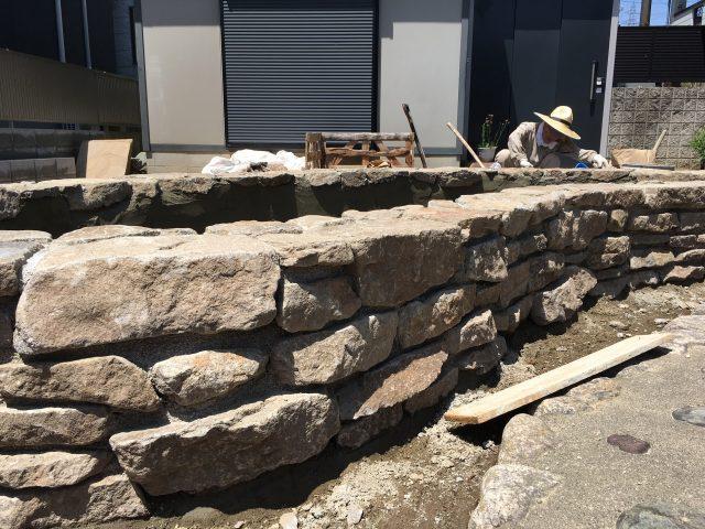 庭づくり 日本の石