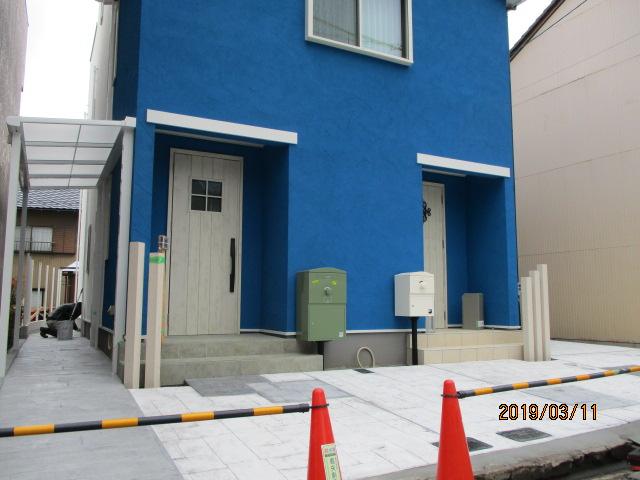 一宮市 三井ホーム様住宅新築外構工事 まもなく完成です