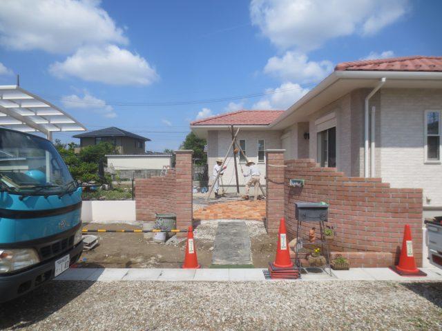 一宮市 親和建設のお庭と江南市のリノベーション工事