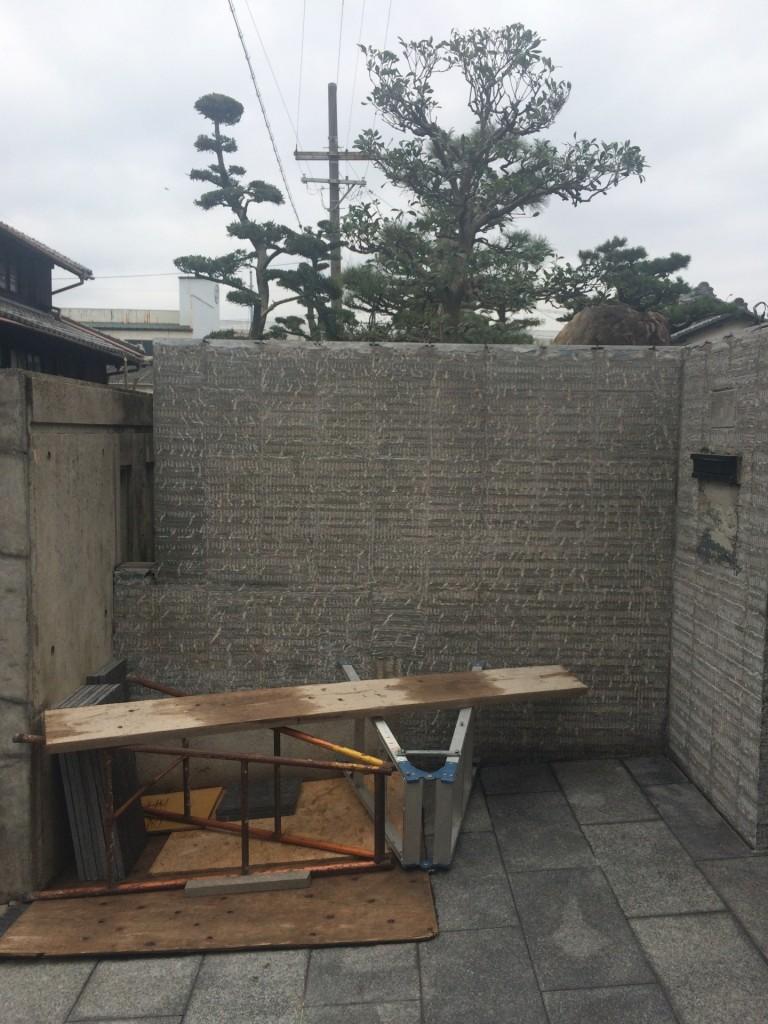 北名古屋市 リフォーム工事進行中です。