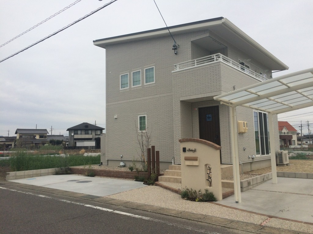 江南市にて新築外構が完成しました。