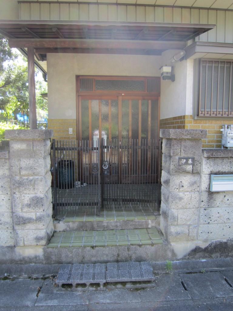 おばあさんに優しい階段と老後の新築(造成)