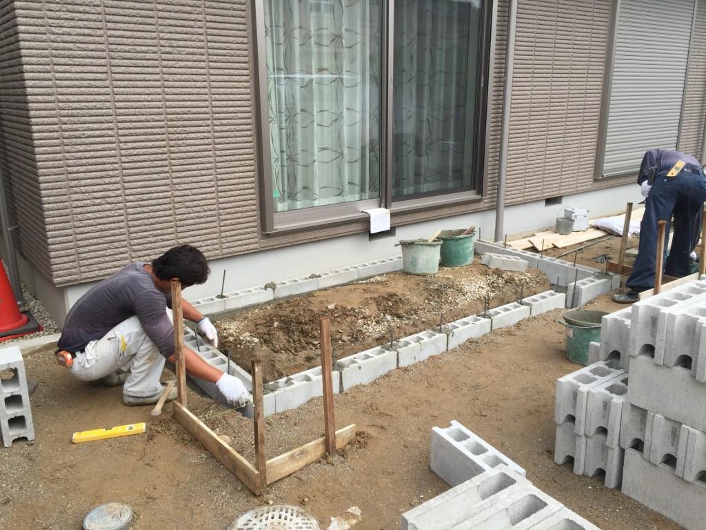 春日井市・お庭工事
