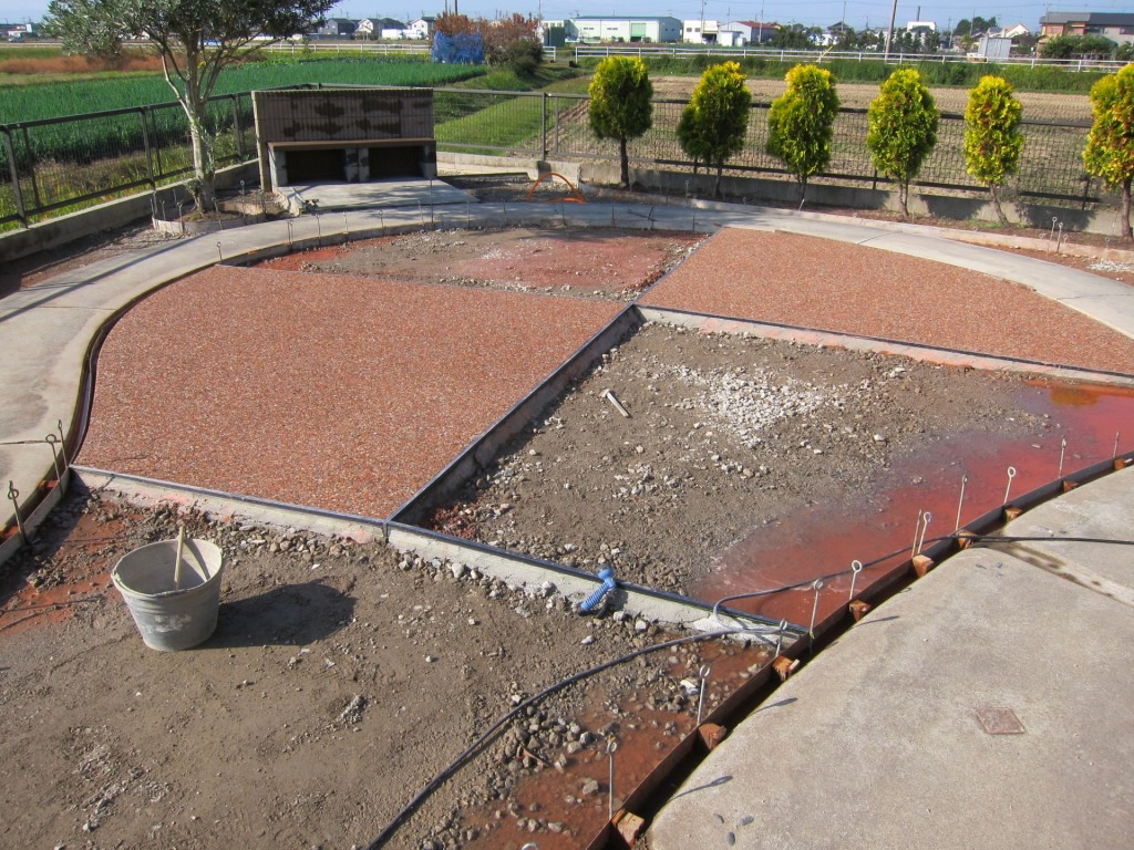 雑草対策の庭リフォーム工事