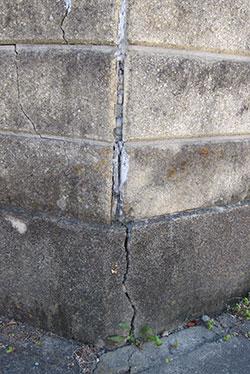 ブロック塀の診断