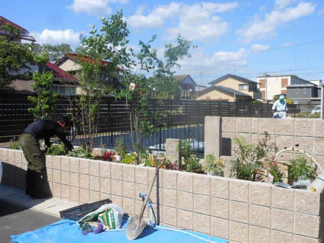 江南市 エクステリア・ガーデン工事