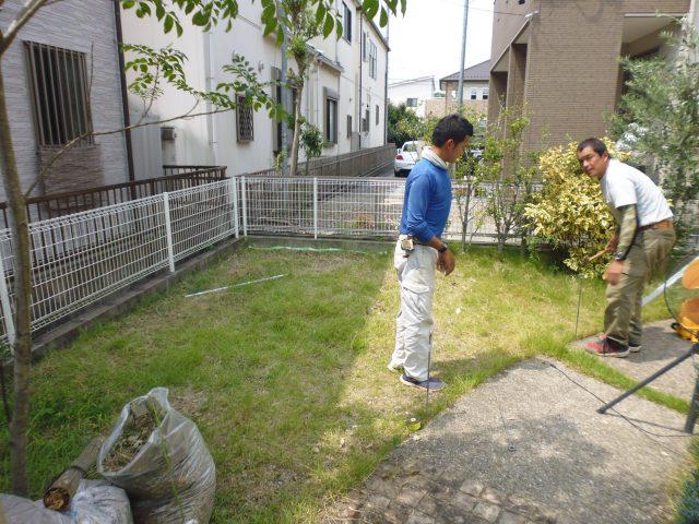 北名古屋市 自転車置き場のコンクリート工事