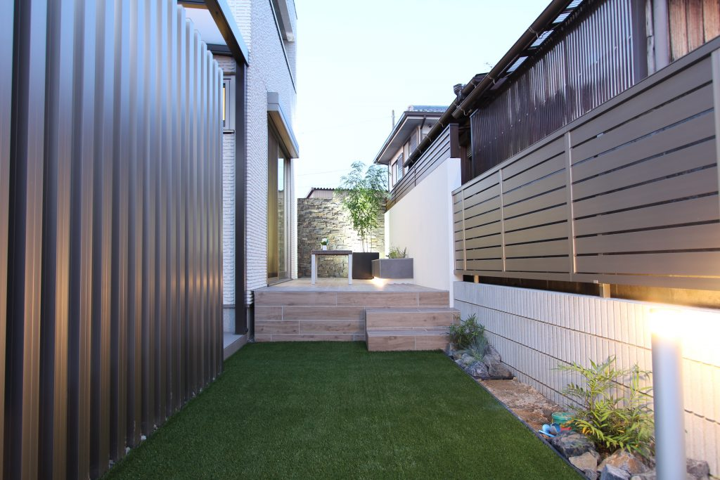 一宮市 第二のリビング・・・お庭にリゾート空間を