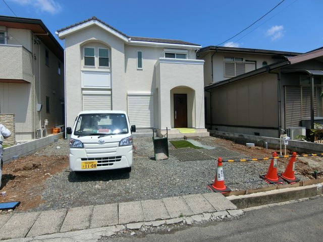 春日井市 三井ホーム外構着工しました