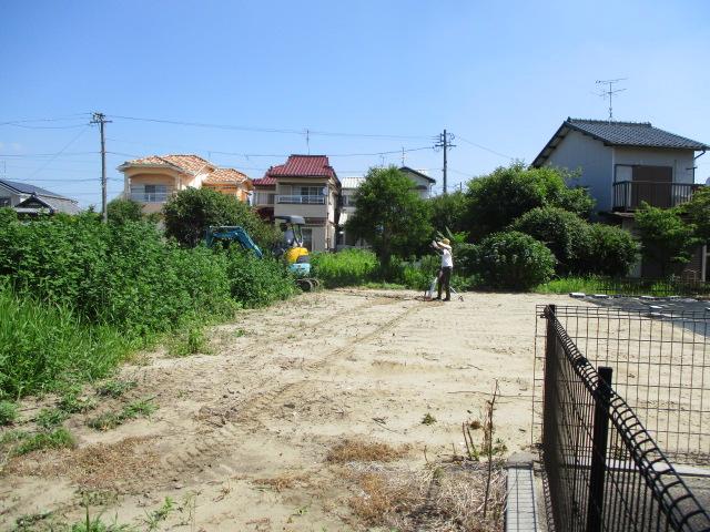 江南市 新築外構造成工事