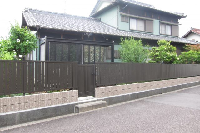 ブロック塀改修工事 名古屋市北区
