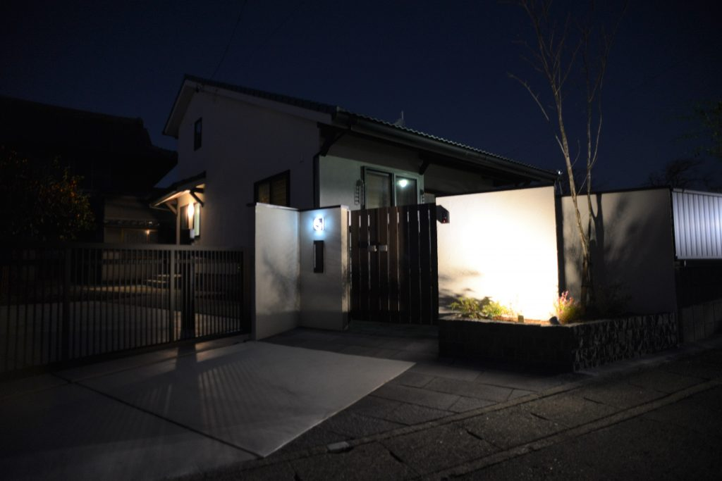 清須市 和風住宅の外構工事