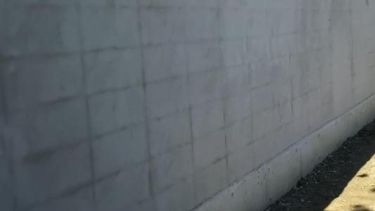 コンクリートブロック塀・・・