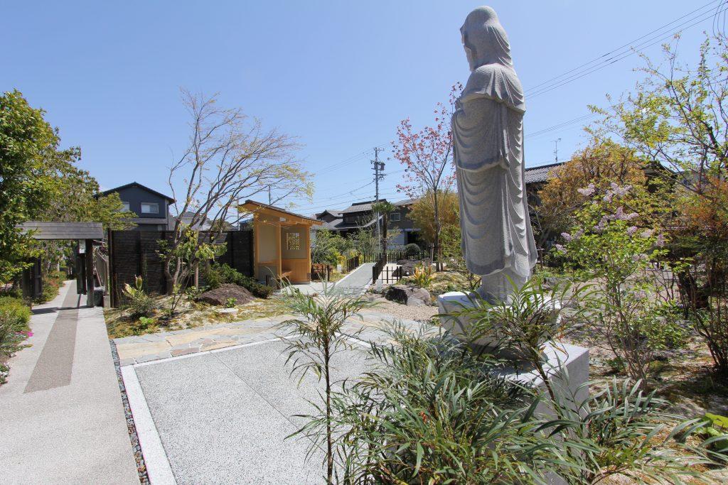 寺院の再生 現代だからこそ見直される地域コミュニティー。その大切さ。   伝統とモダンの融合                                                     <一宮市 大日寺>