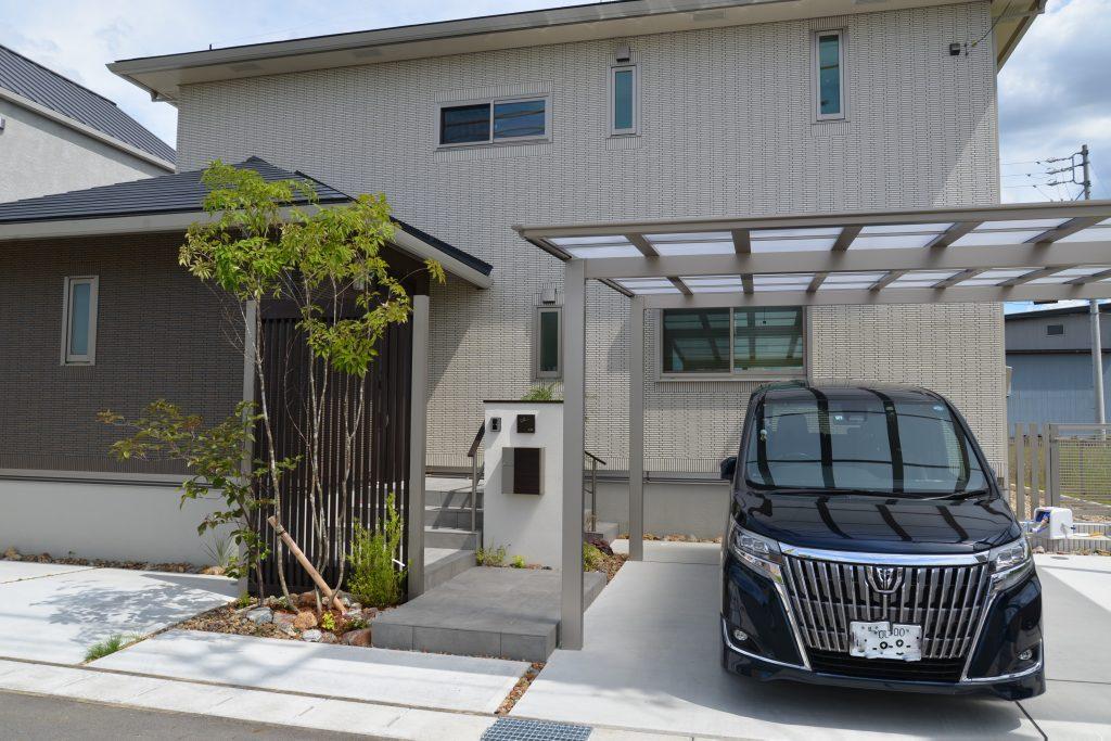 名古屋市 パナソニックホーム 外構工事施工例