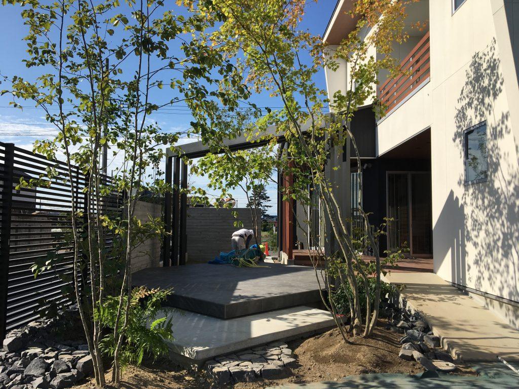 庭リフォーム 植栽工事
