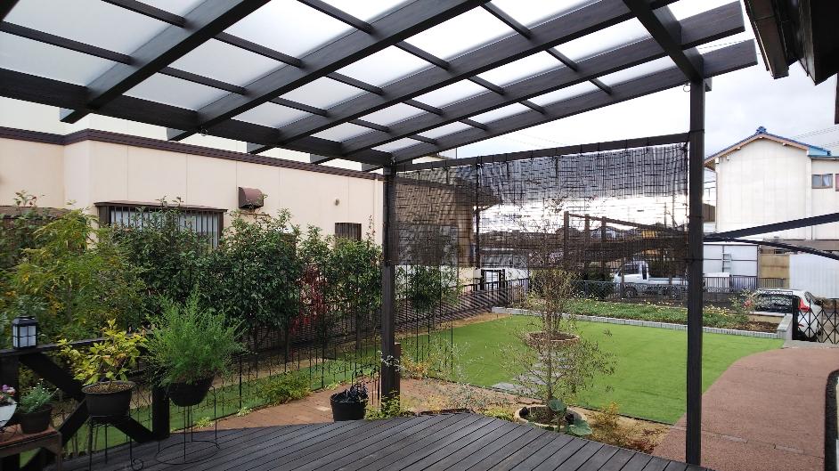 お庭の改装、修繕リフォーム、春日井市T様邸