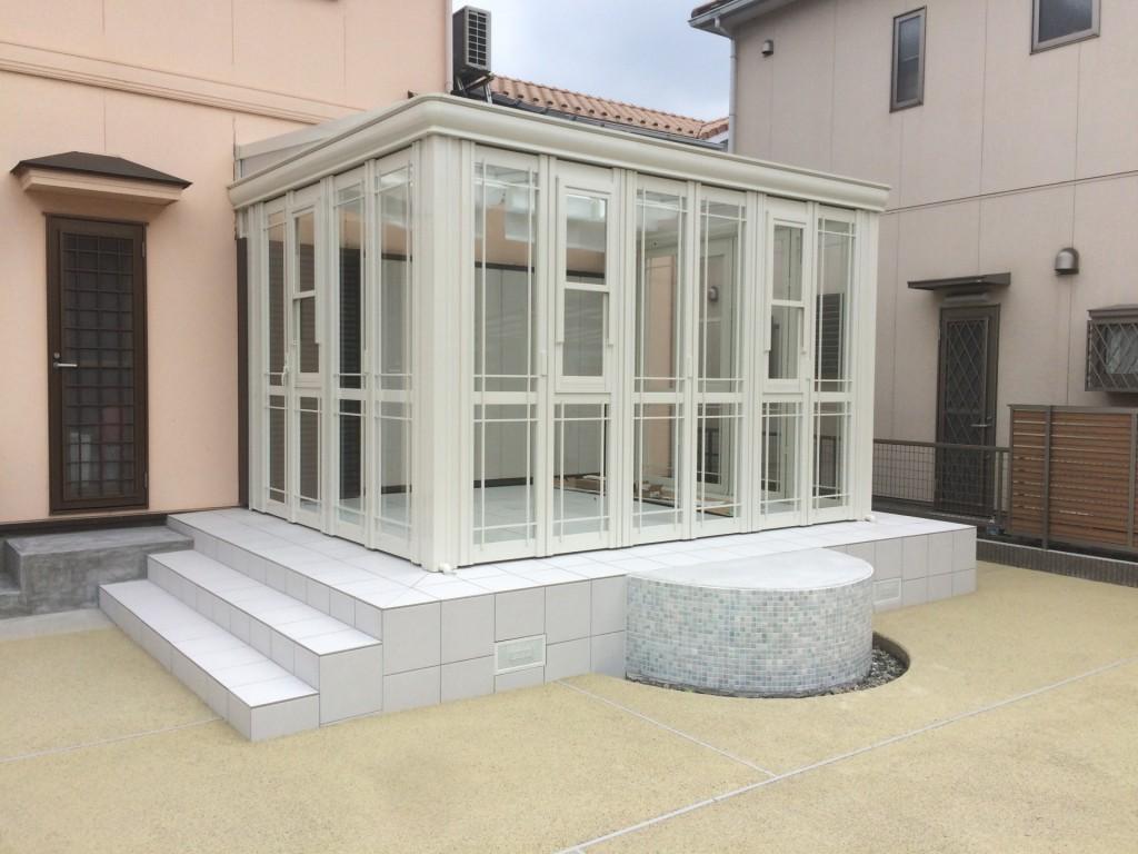 ガーデンルーム  ホワイト